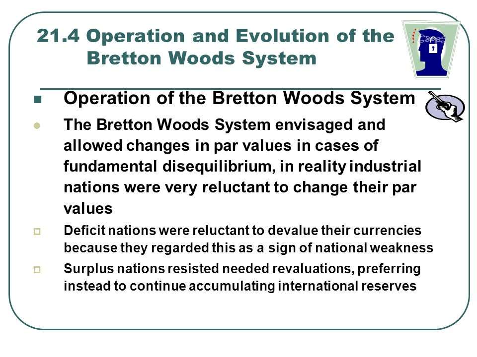 21.4 Operation and Evolution of the Bretton Woods System