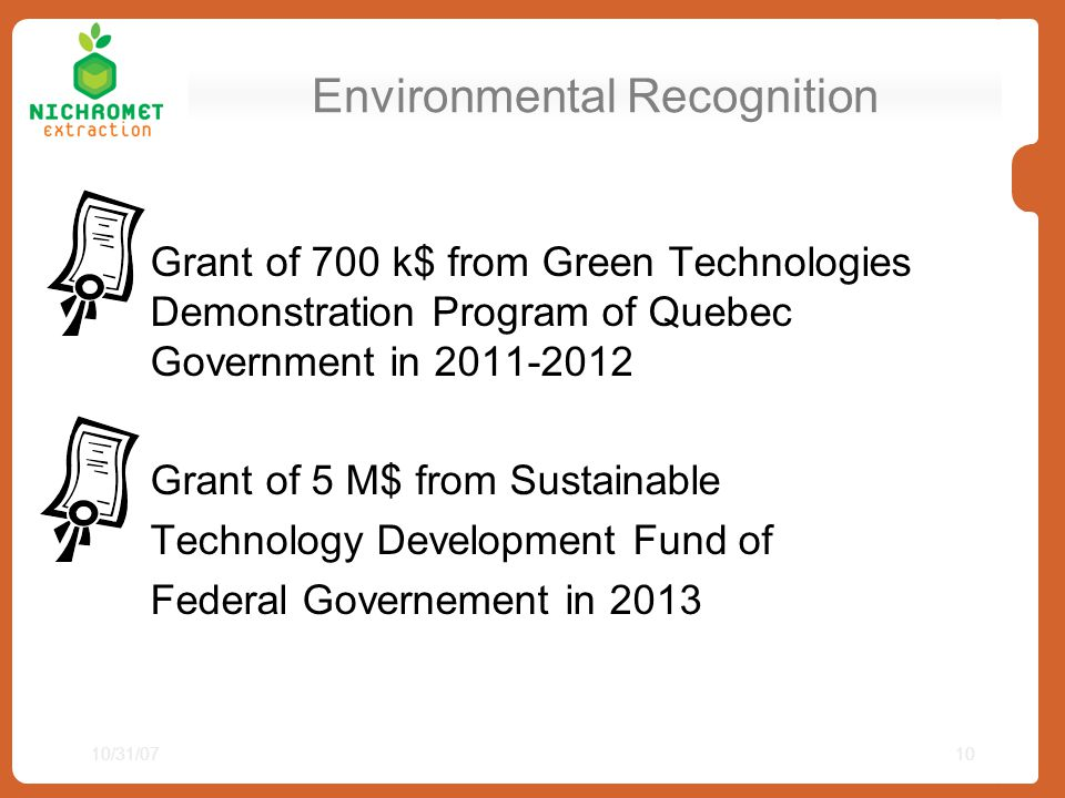 Environmental Recognition