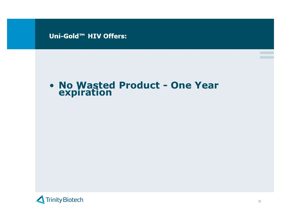 No Wasted Product - One Year expiration