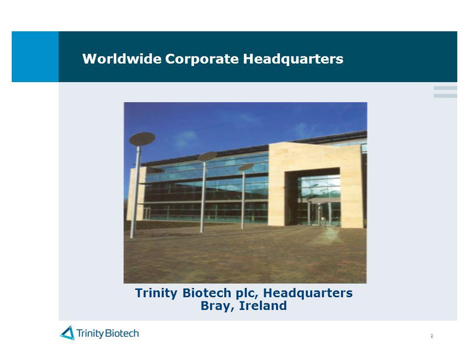 Worldwide Corporate Headquarters