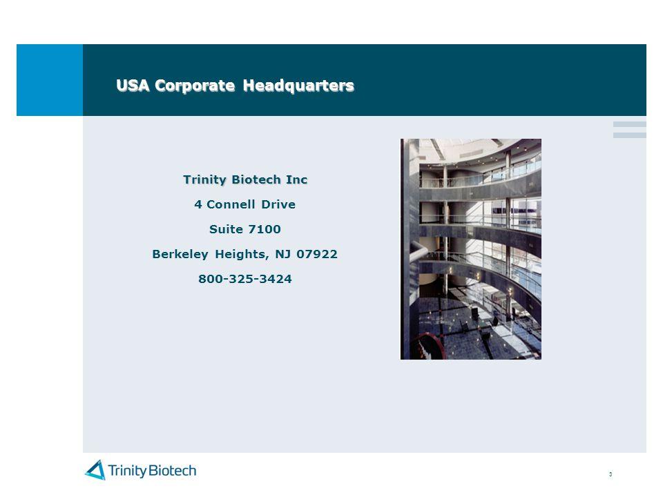 USA Corporate Headquarters
