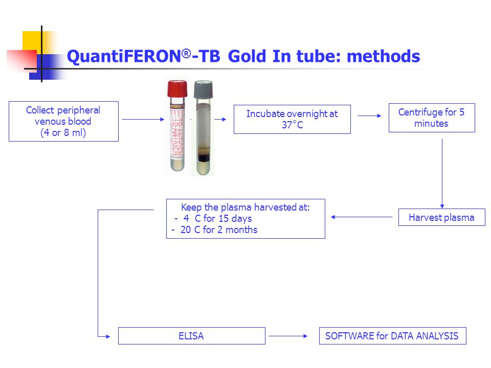 QuantiFERON®-TB Gold In tube: methods