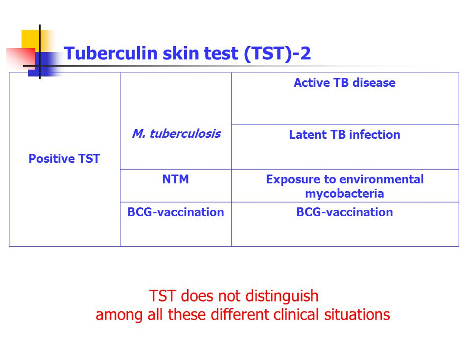 Tuberculin skin test (TST)-2