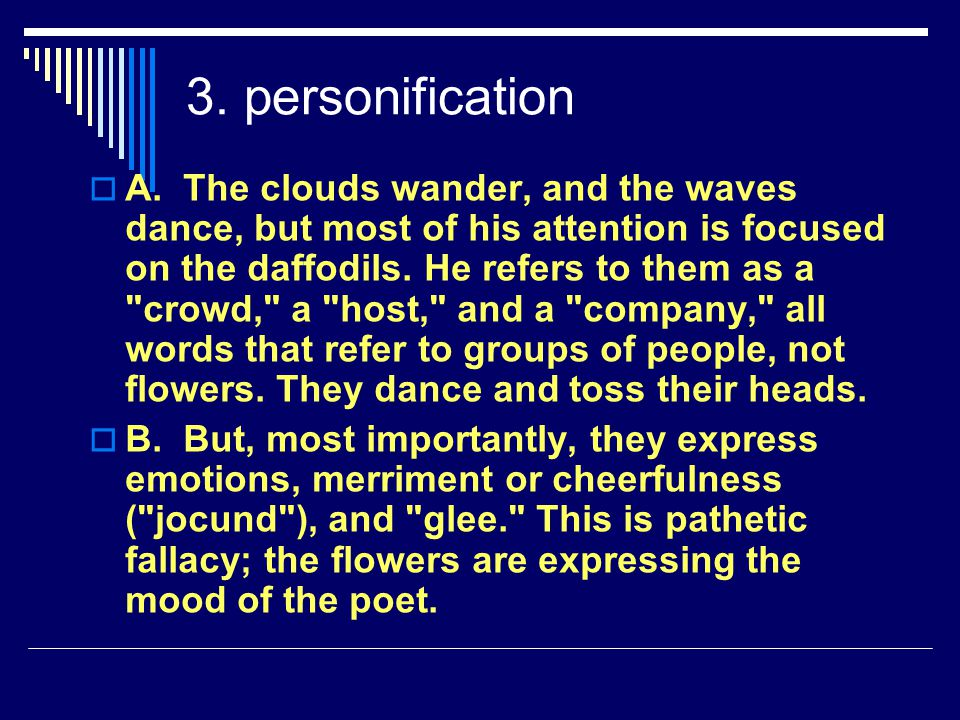 3. personification