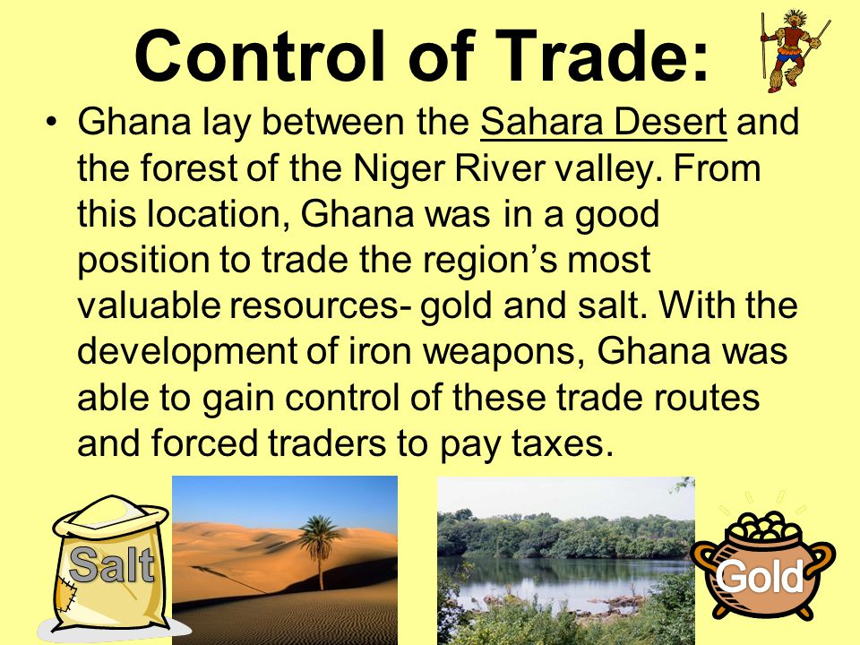 Control of Trade: Salt Gold