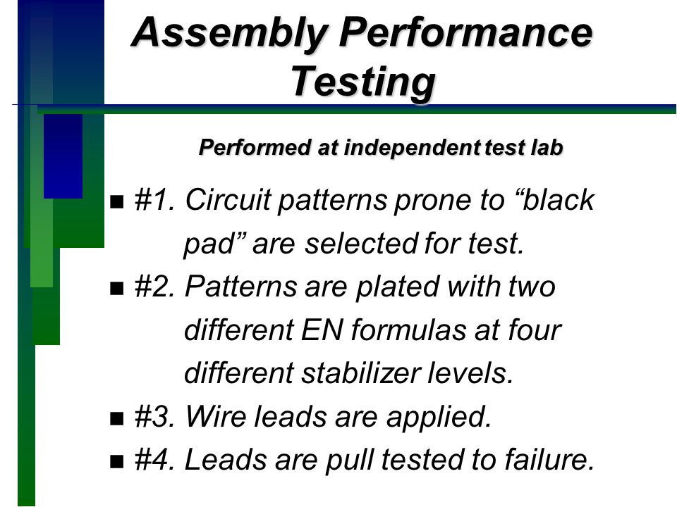 Assembly Performance Testing