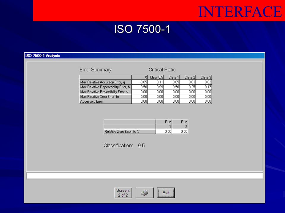 INTERFACE ISO
