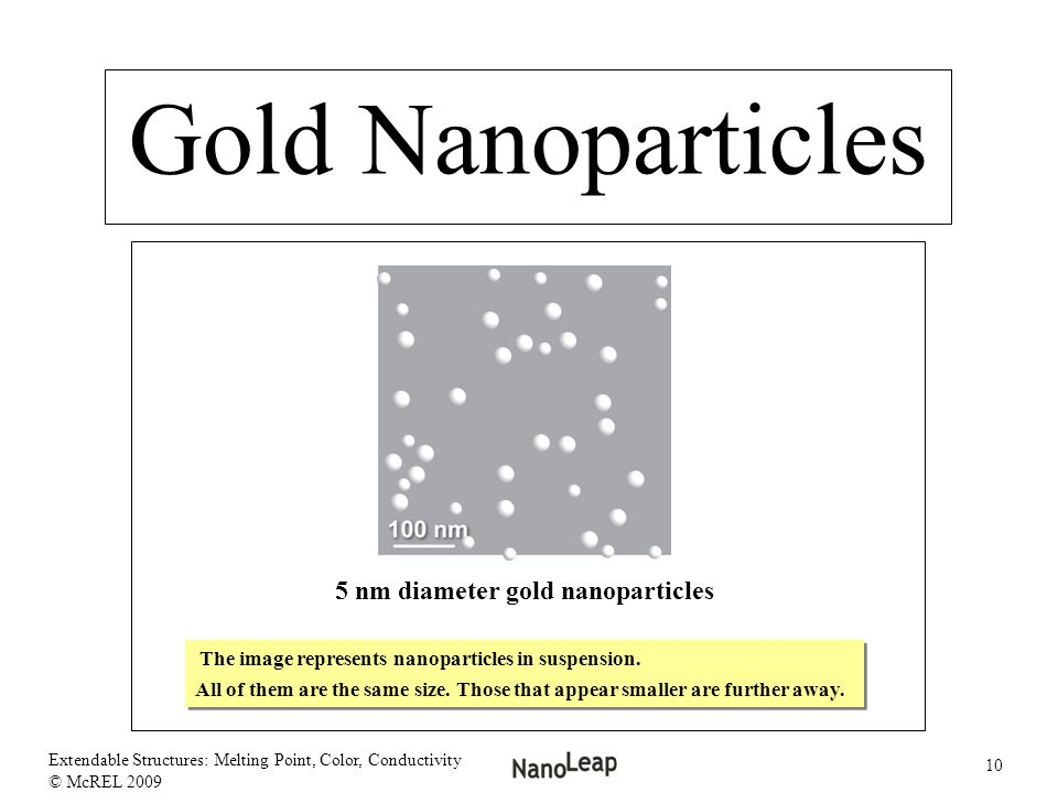 5 nm diameter gold nanoparticles