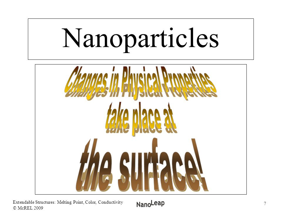 Changes in Physical Properties