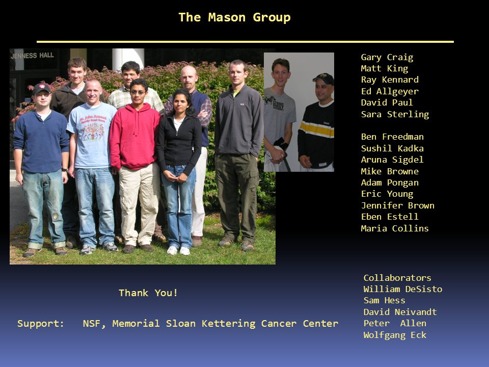 The Mason Group Thank You!