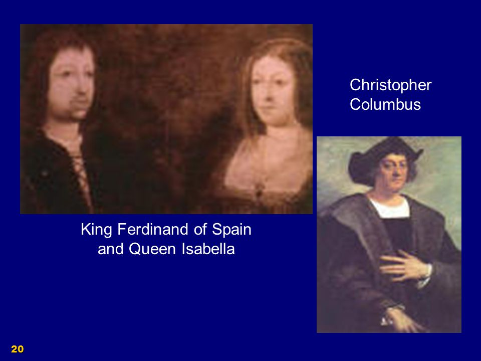 King Ferdinand of Spain and Queen Isabella