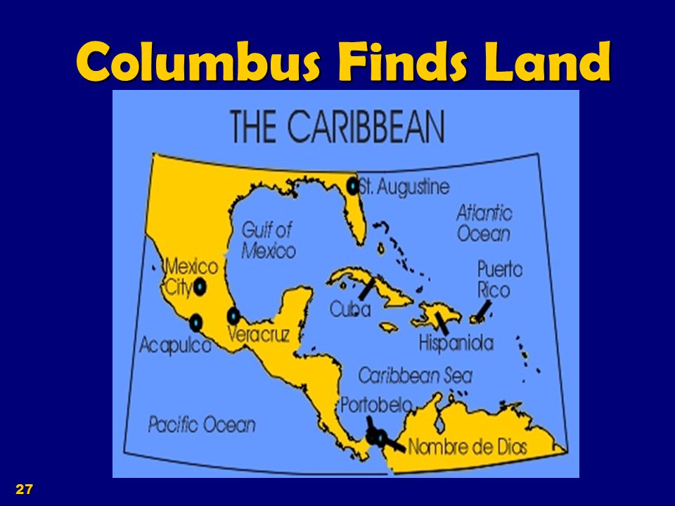 Columbus Finds Land