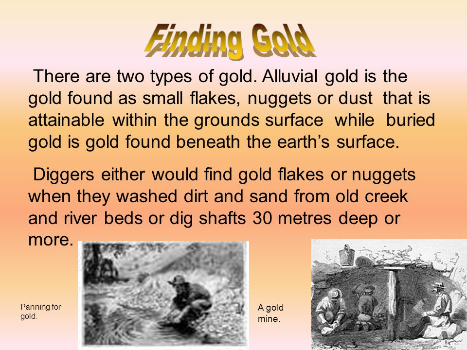 Finding Gold