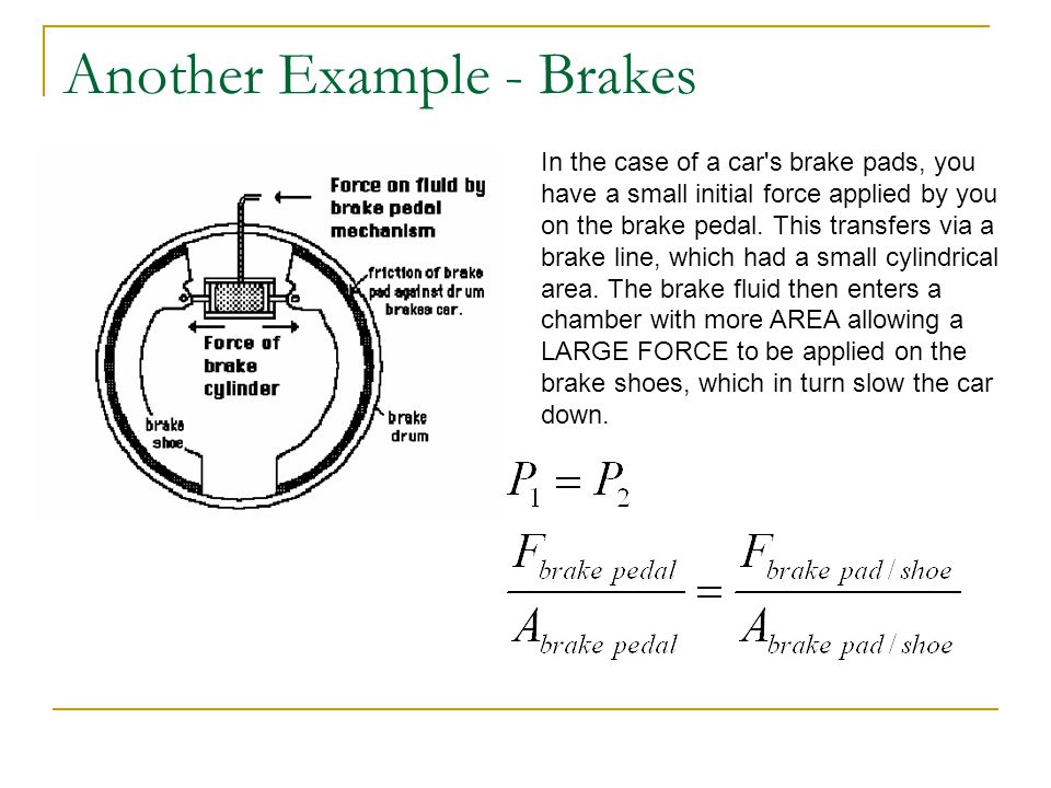 Another Example - Brakes