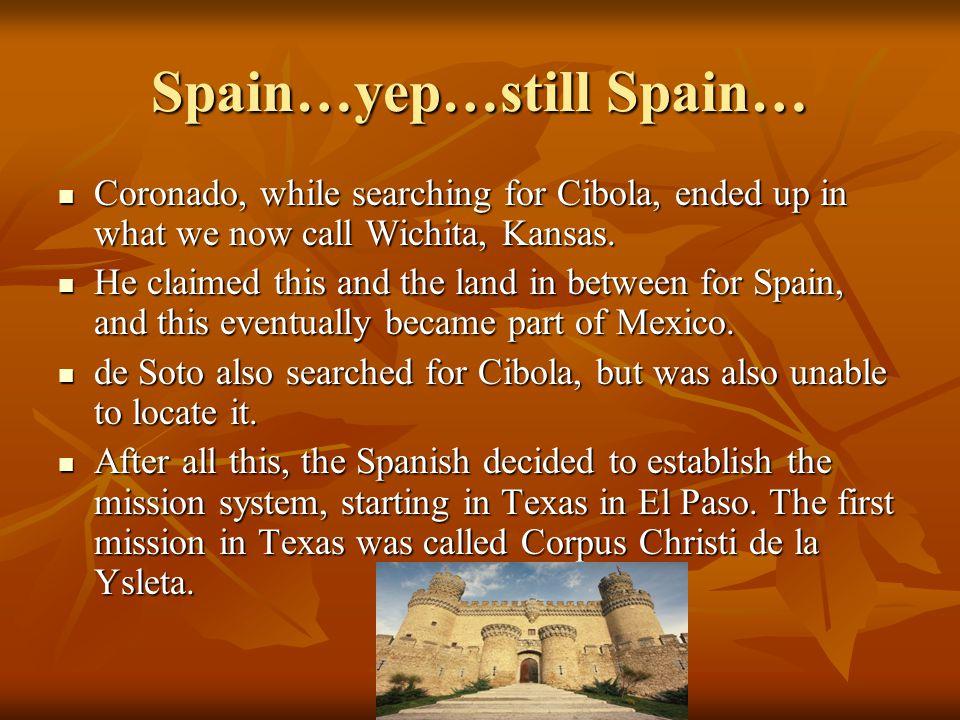 Spain…yep…still Spain…