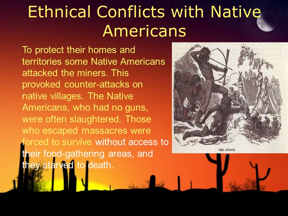 Ethnical Conflicts with Native Americans