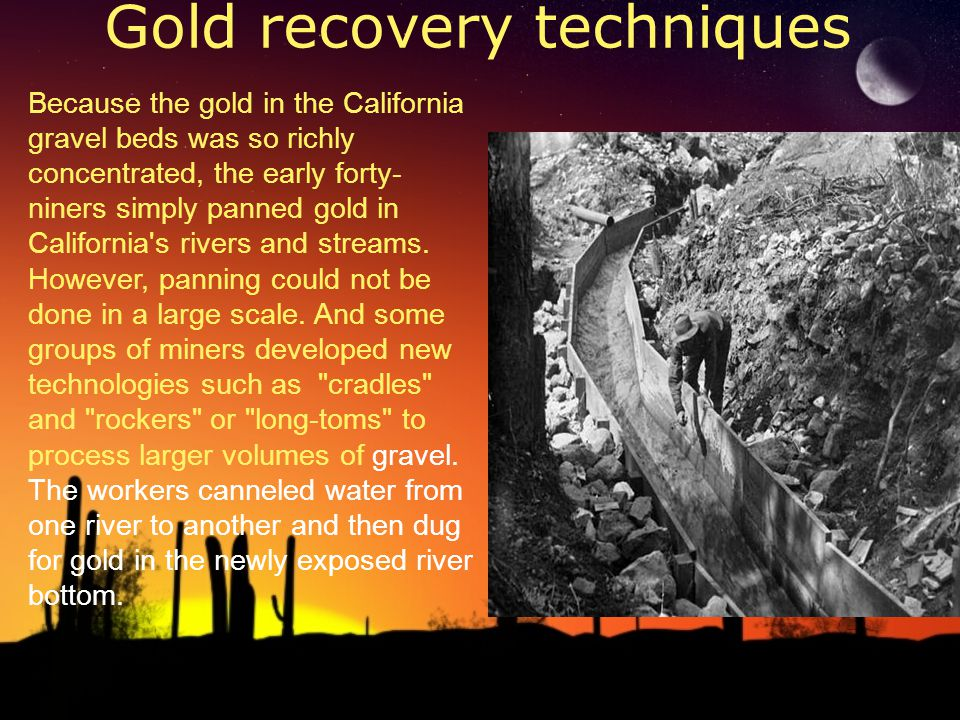Gold recovery techniques