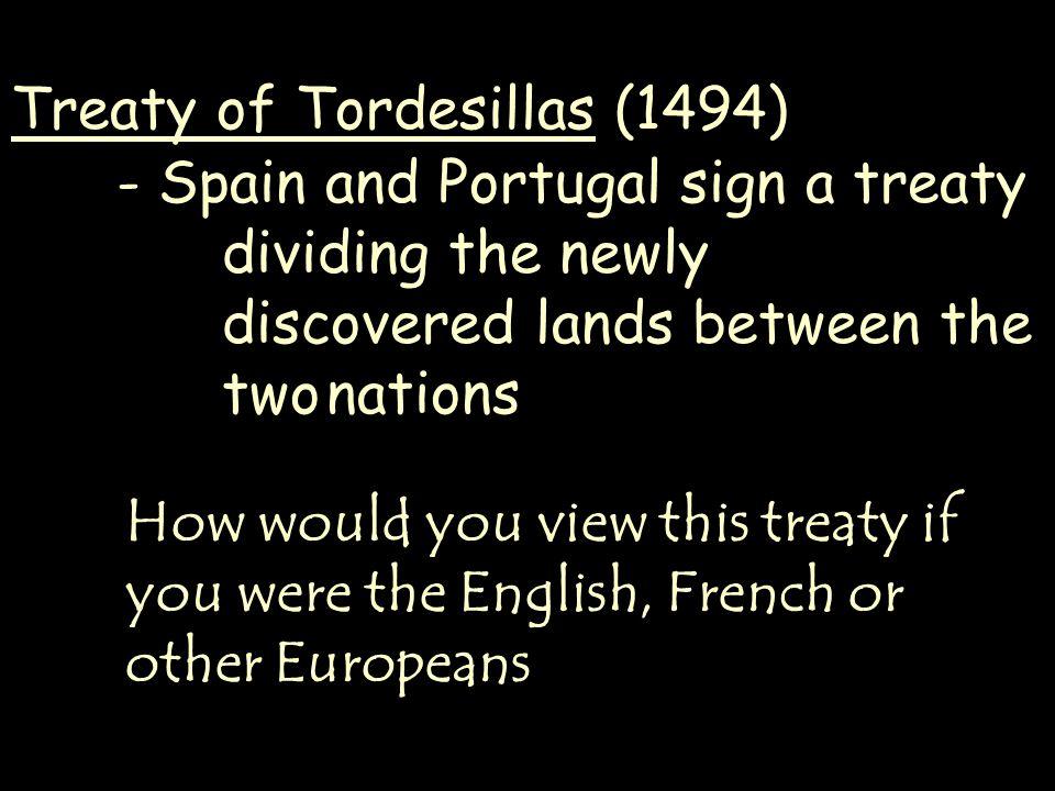 Treaty of Tordesillas (1494)