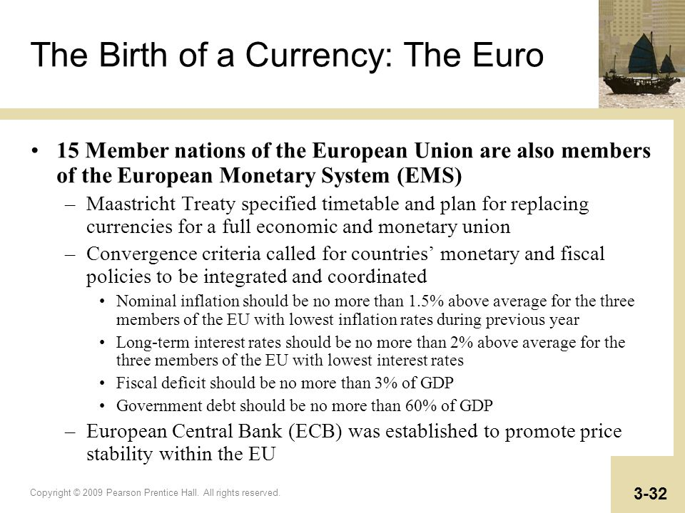 The Birth of a Currency: The Euro