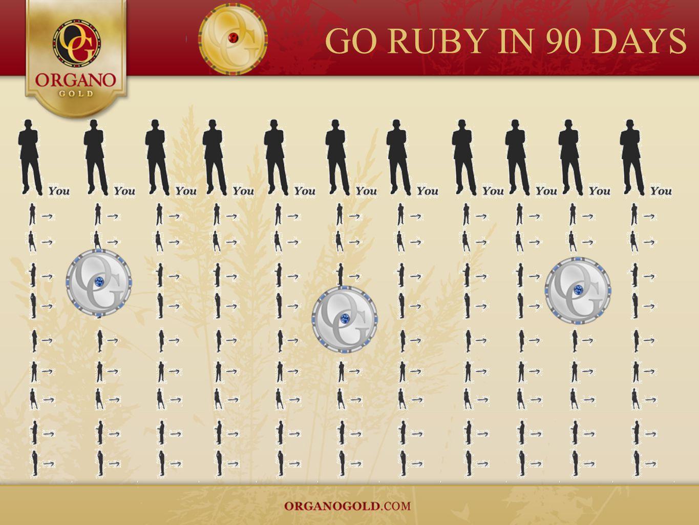 GO RUBY IN 90 DAYS