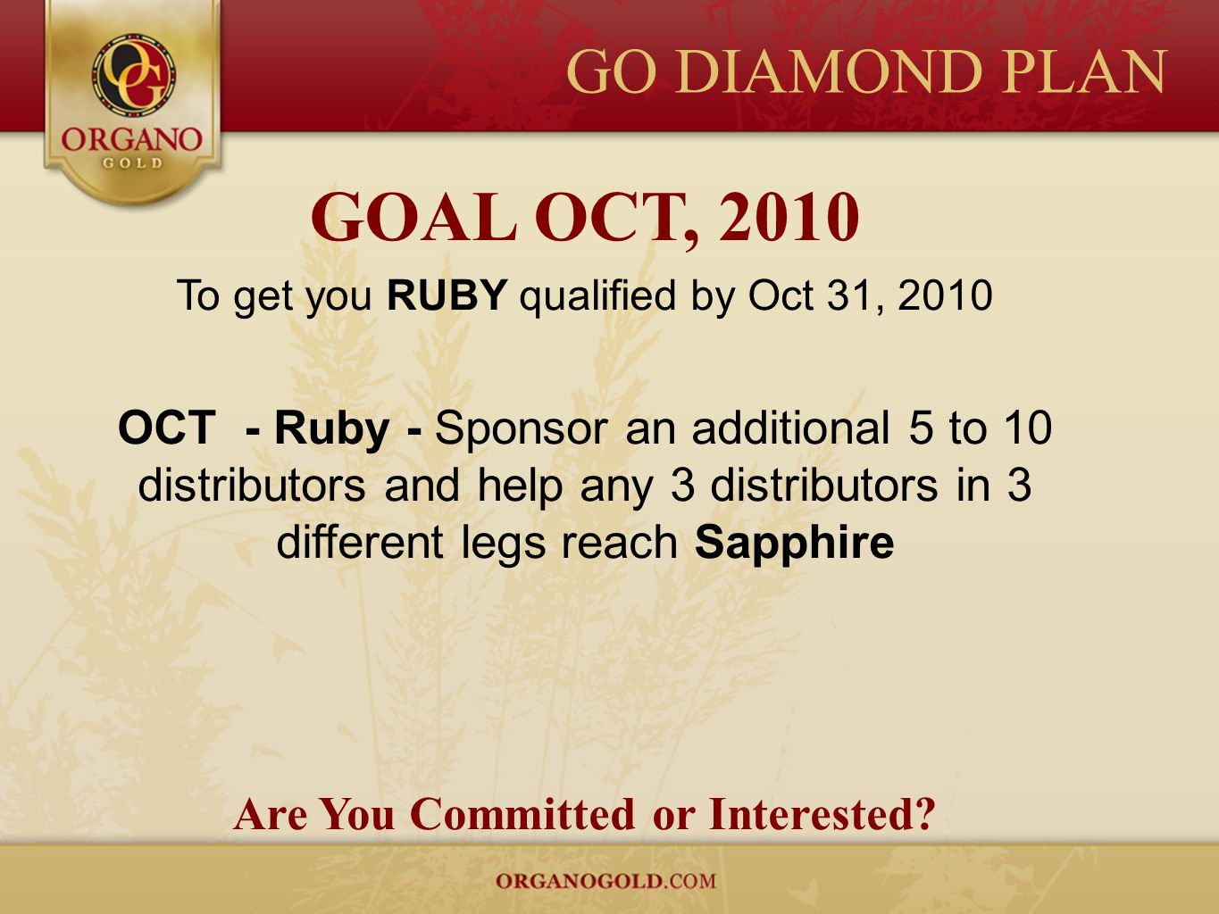 Are You Committed or Interested