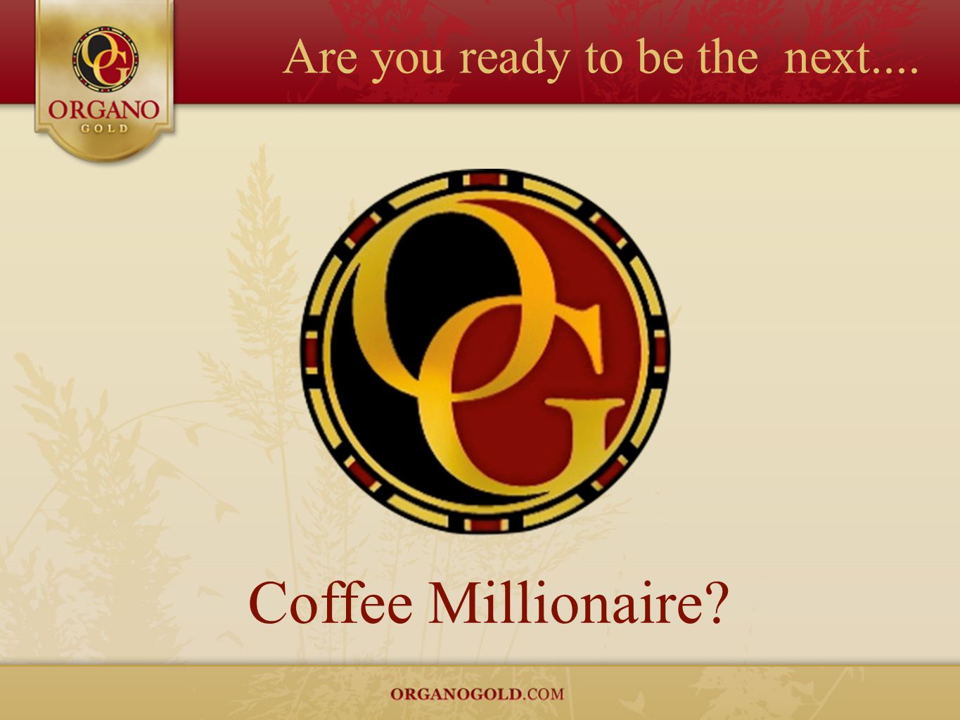 Are you ready to be the next....