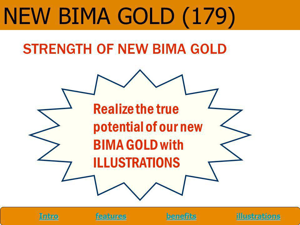 NEW BIMA GOLD (179) STRENGTH OF NEW BIMA GOLD