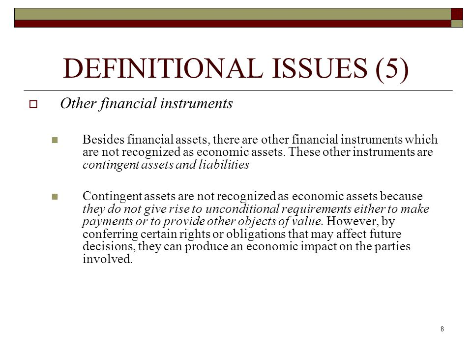 DEFINITIONAL ISSUES (5)