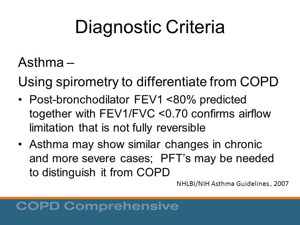 NHLBI/NIH Asthma Guidelines , 2007