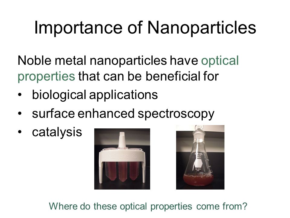 Importance of Nanoparticles