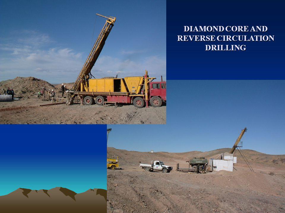 DIAMOND CORE AND REVERSE CIRCULATION DRILLING