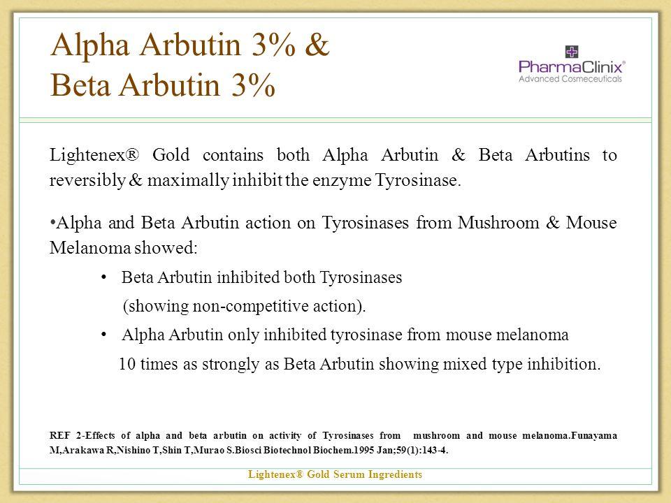 Alpha Arbutin 3% & Beta Arbutin 3%