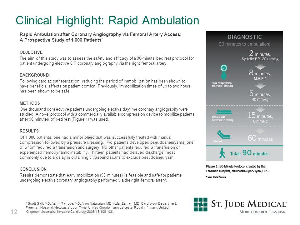 Clinical Highlight: Rapid Ambulation