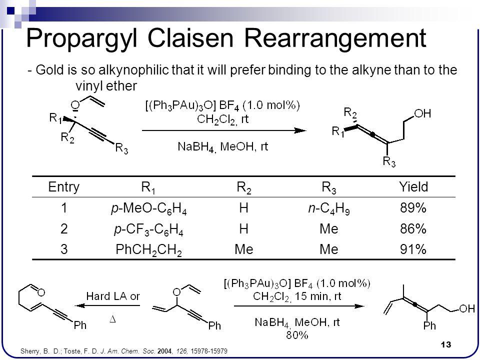 Propargyl Claisen Rearrangement