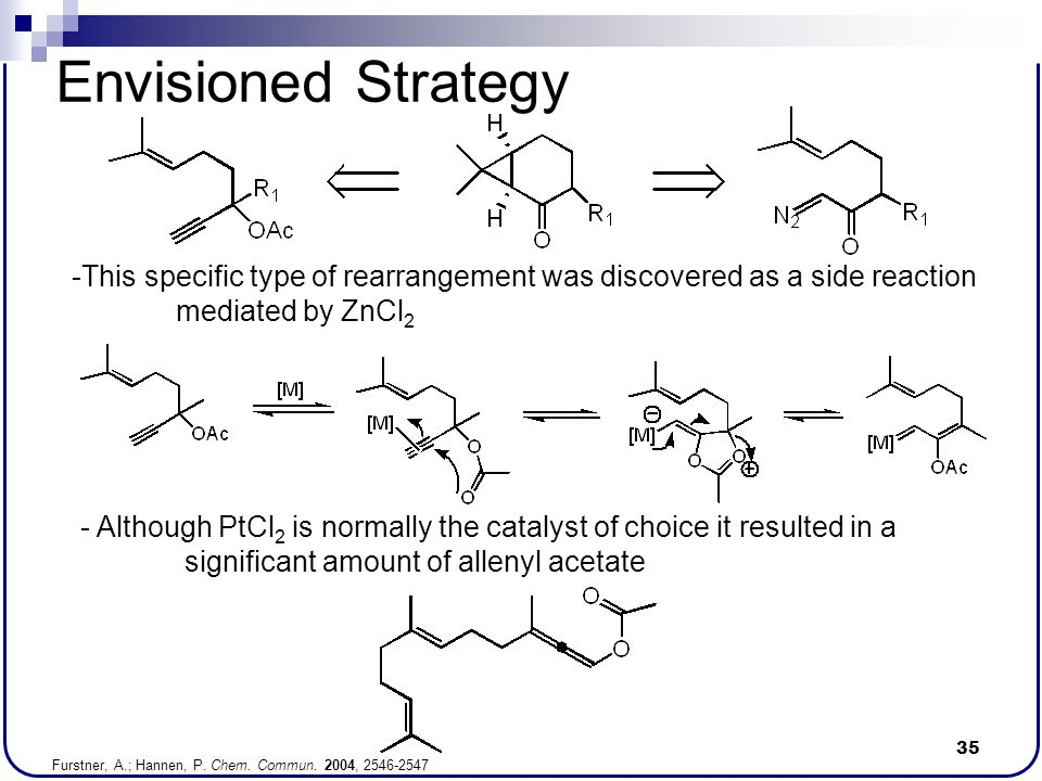 Envisioned Strategy This specific type of rearrangement was discovered as a side reaction mediated by ZnCl2.