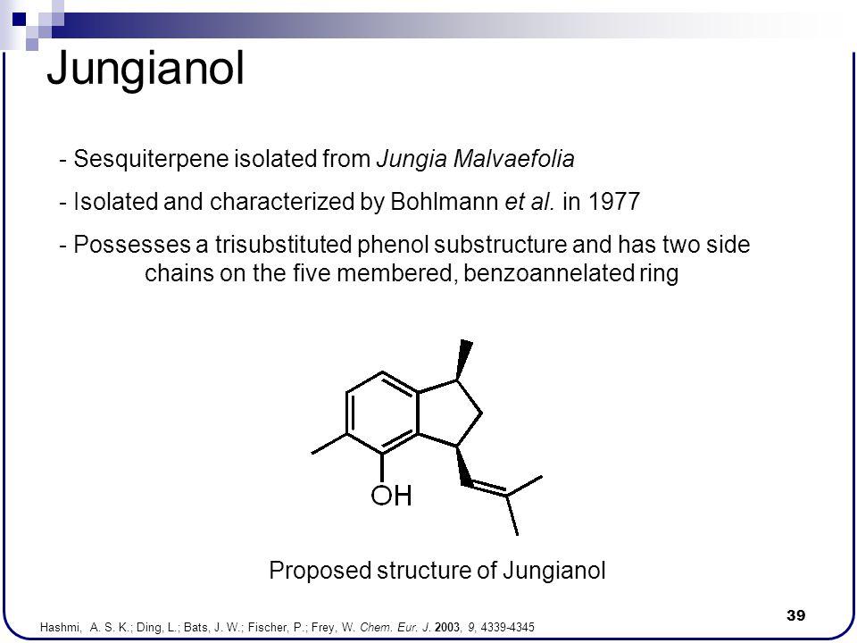 Jungianol - Sesquiterpene isolated from Jungia Malvaefolia