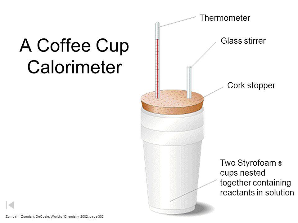 A Coffee Cup Calorimeter