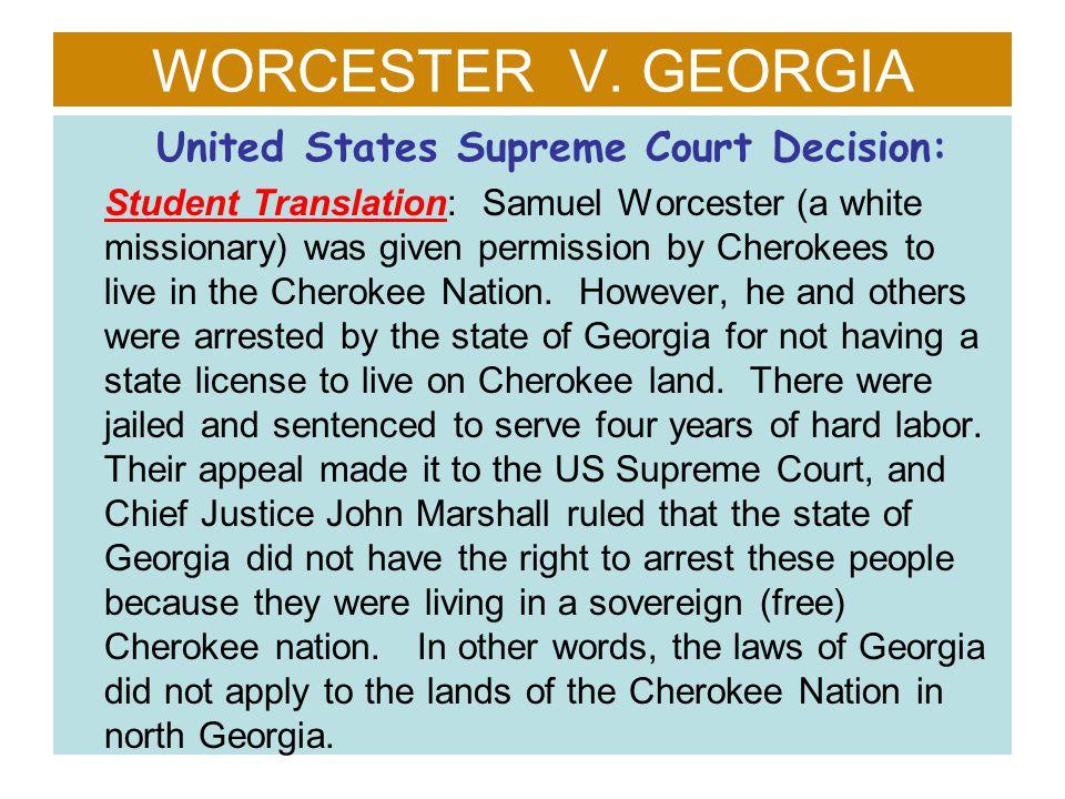 United States Supreme Court Decision: