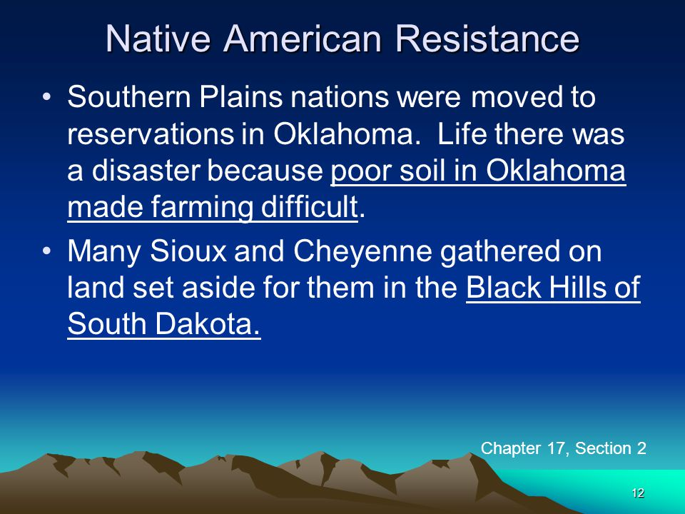 Native American Resistance