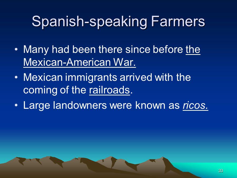 Spanish-speaking Farmers