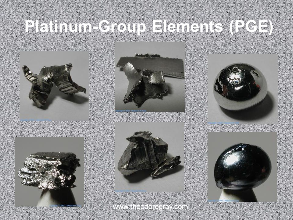 Platinum-Group Elements (PGE)