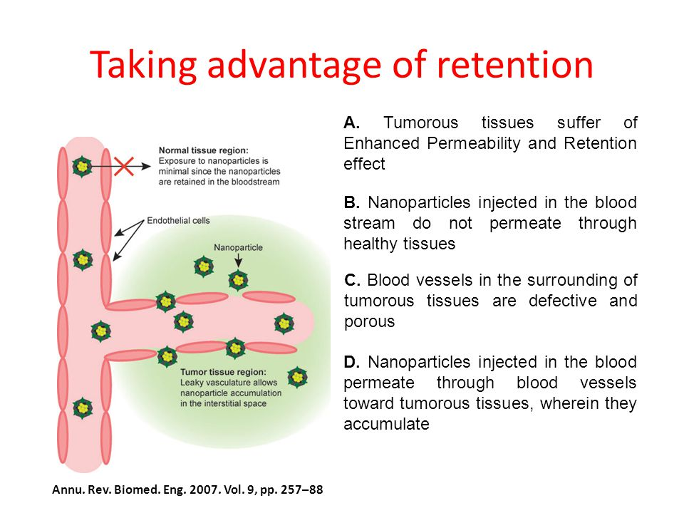 Taking advantage of retention