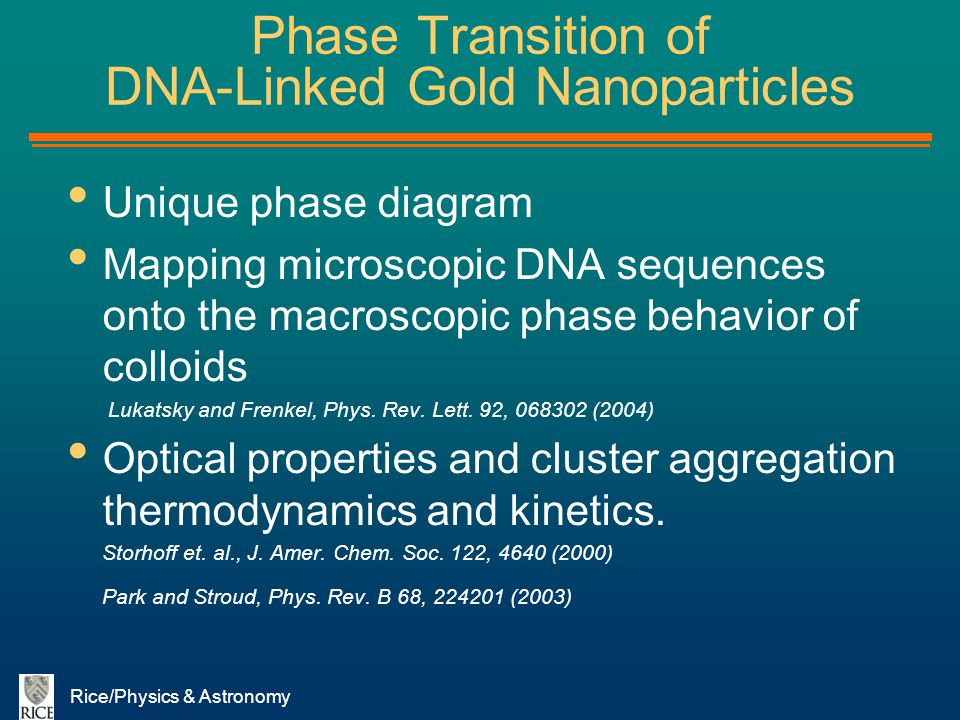 Phase Transition of DNA-Linked Gold Nanoparticles