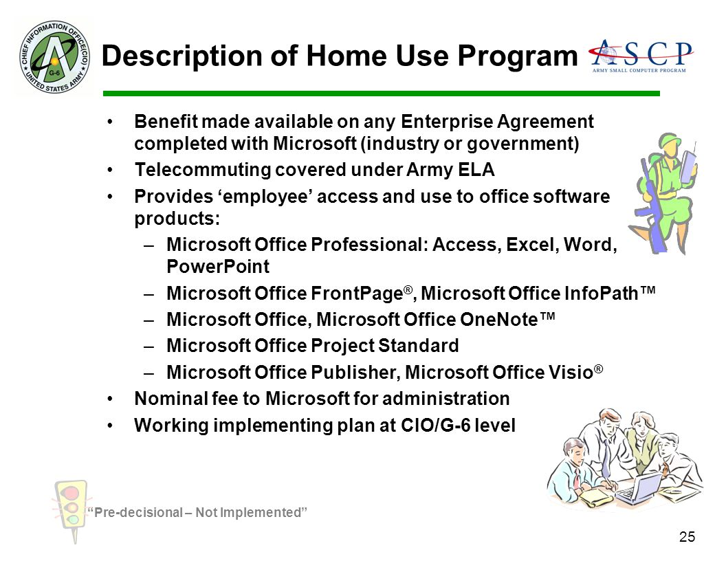Description of Home Use Program