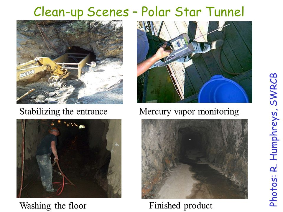 Clean-up Scenes – Polar Star Tunnel