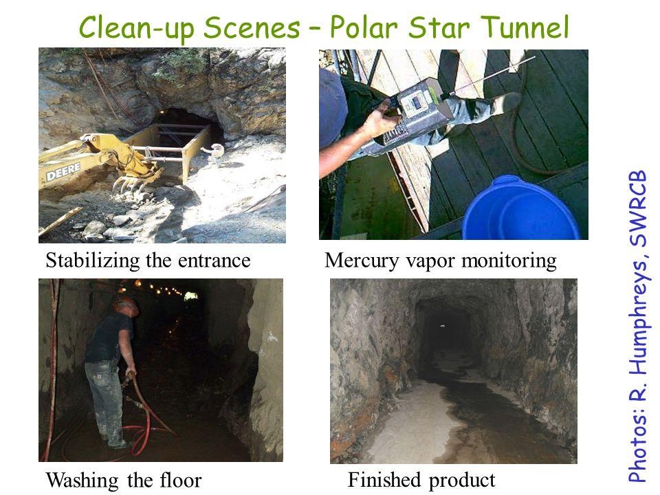 Clean-up Scenes – Polar Star Tunnel
