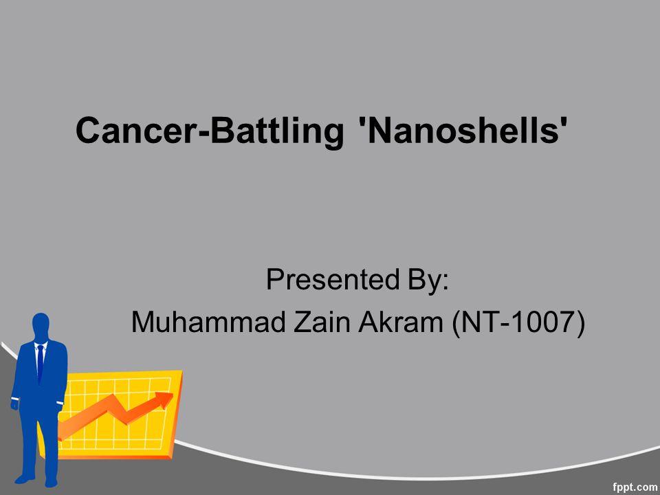 Cancer-Battling Nanoshells