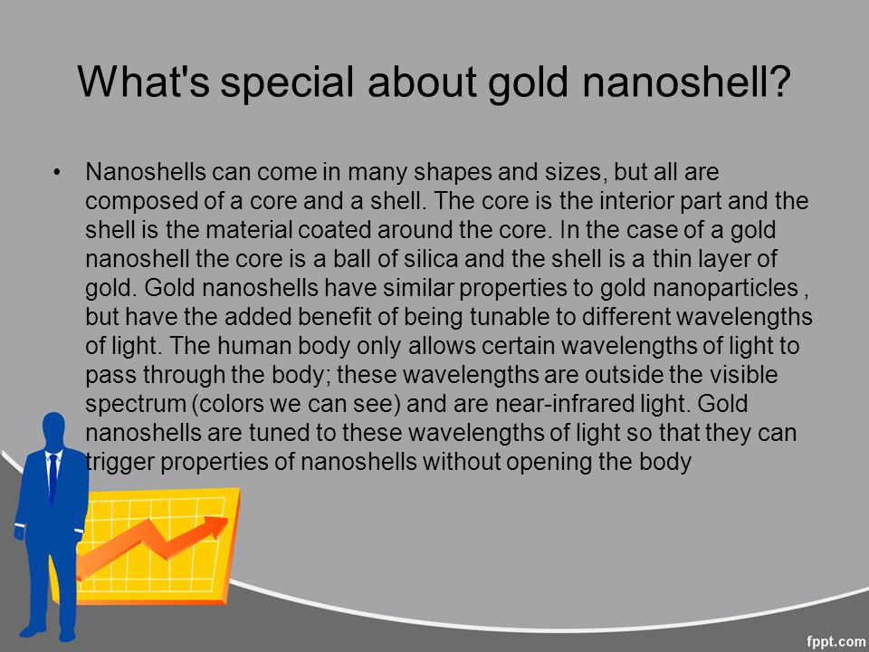 What s special about gold nanoshell