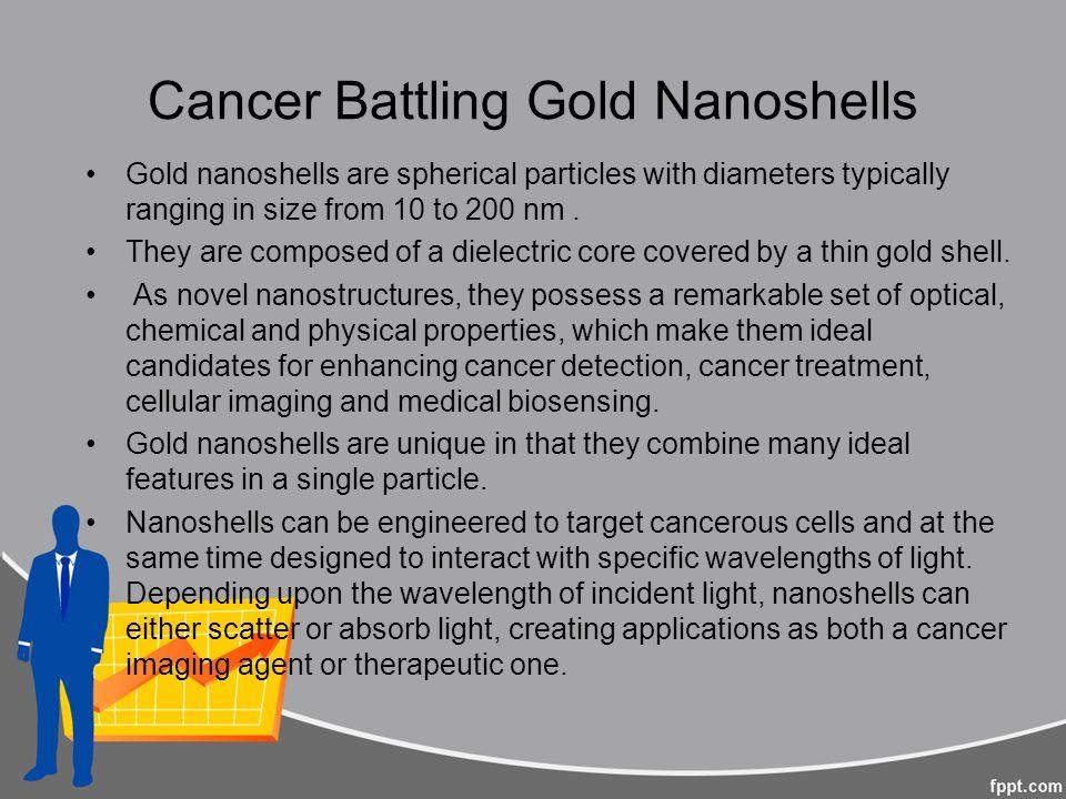 Cancer Battling Gold Nanoshells