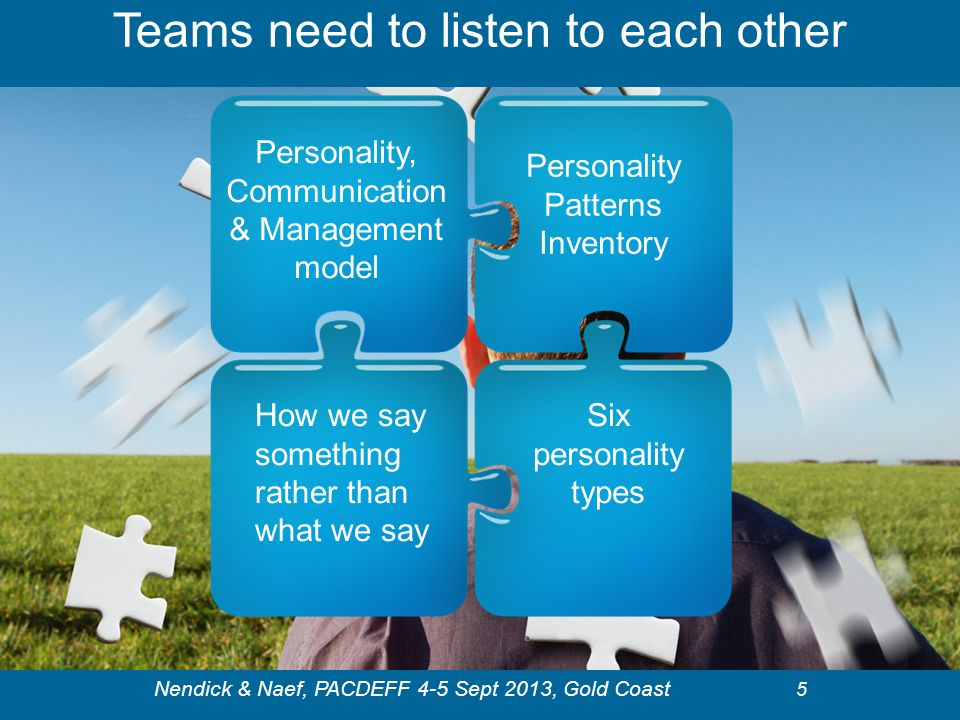 Teams need to listen to each other